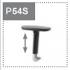 Podłokietnik P54S (nakładka tapicerowana skórą) - +273,06zł
