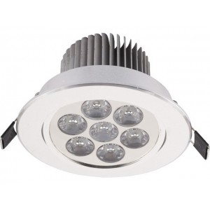 NOWODVORSKI DOWNLIGHT LED 7 SILVER 6823