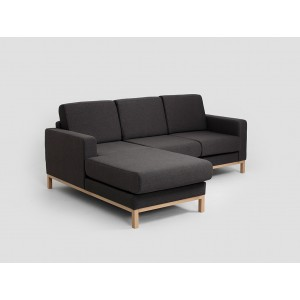 CUSTOMFORM  sofa SCANDIC narożnik  2 os. z szelongiem L