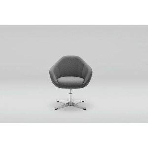 MARBET STYLE Fotel TULO office 1 BK