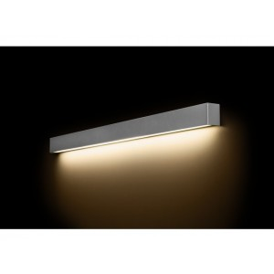 NOWODVORSKI STRAIGHT WALL LED SILVER L 9615