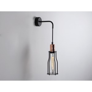 CUSTOMFORM lampa WORKER TALL WALL czarny