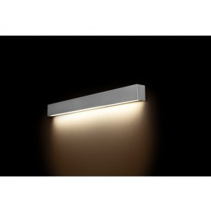 NOWODVORSKI STRAIGHT WALL LED SILVER M 9614