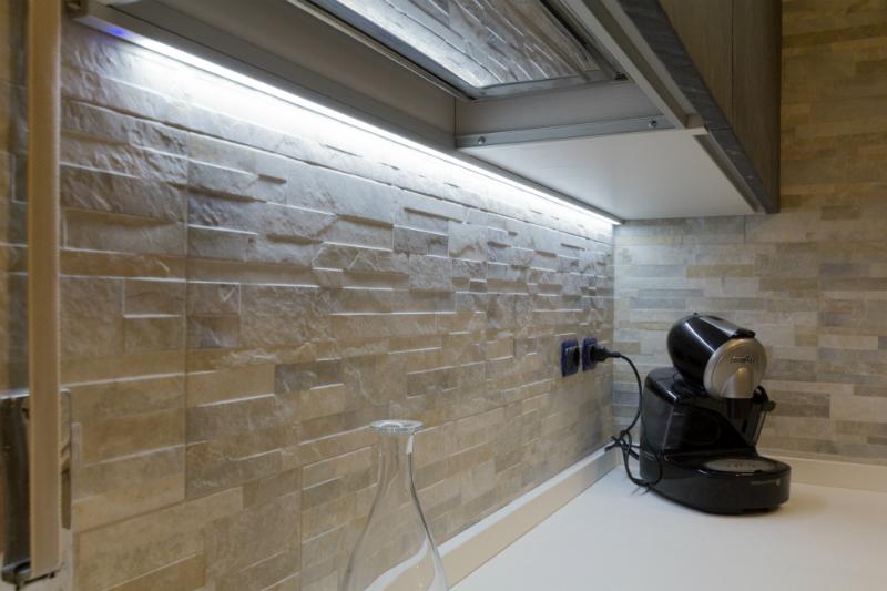 Pasek LED w kuchni - oświetlenie