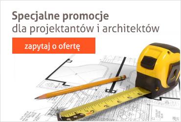 Specjalne oferty i promocje dla architektów i projektantów